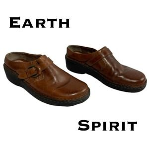 Earth Spirits Gelron 2000 Slip-On Mules Size 7